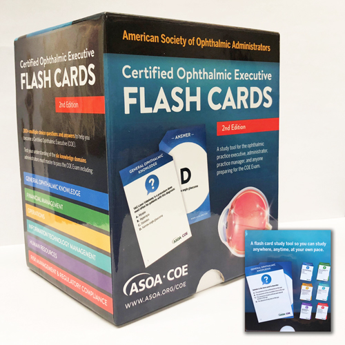 Certified Ophthalmic Executive (COE) Flash Cards, 2nd Edition