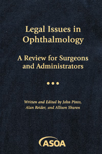 Legal Issues in Ophthalmology